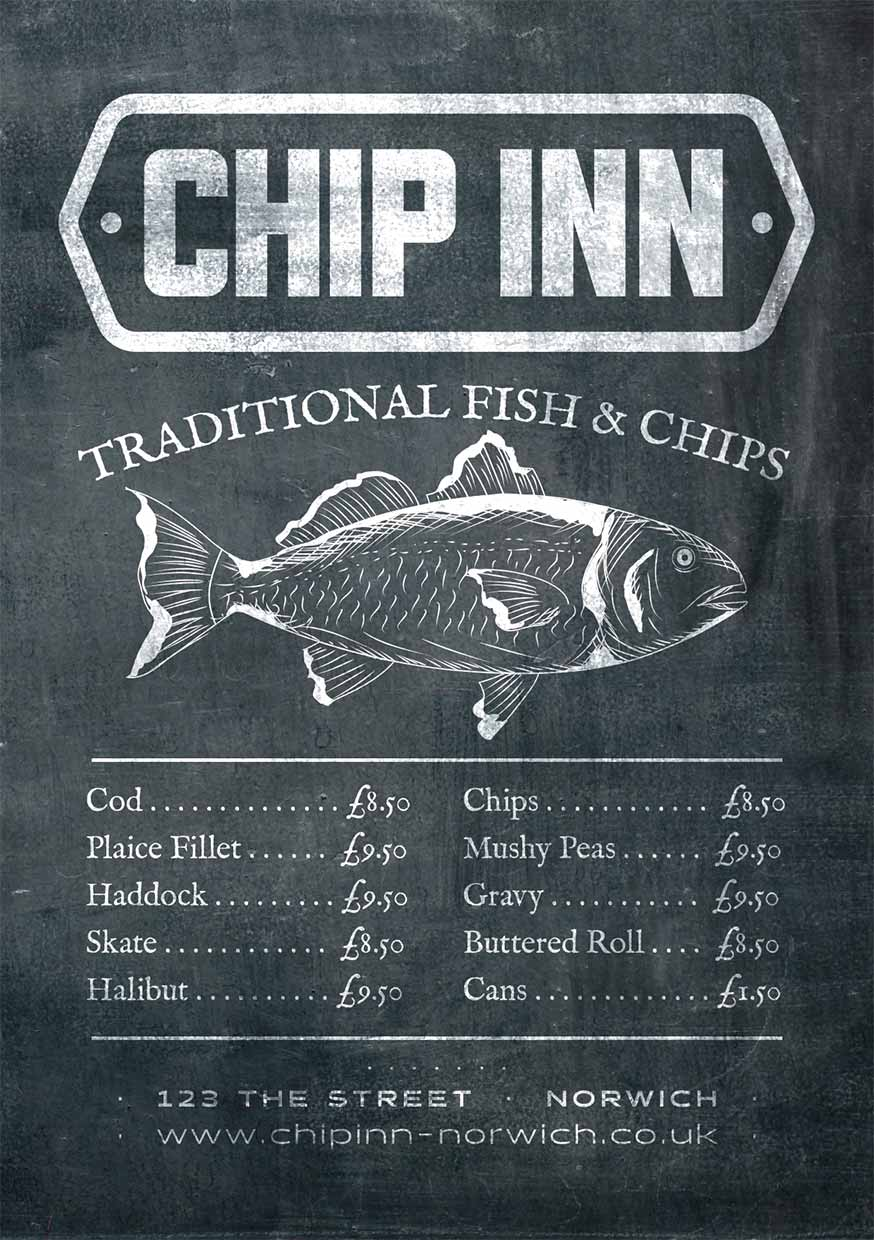Chip Shop Flyers