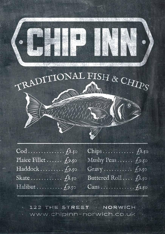 Chip Shop Flyers