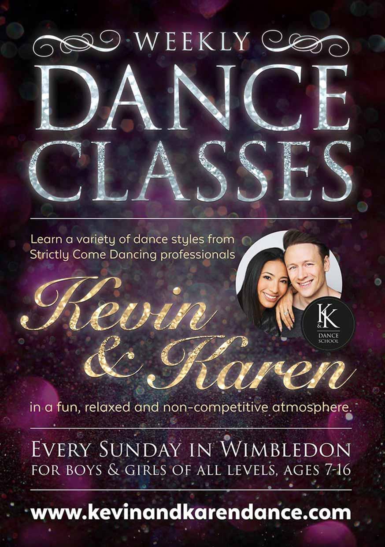 Dance Class Flyers