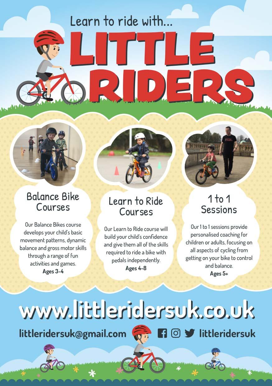 Little Riders Bike Lesson Flyers