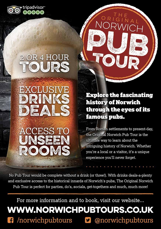 Pub Tour Flyers