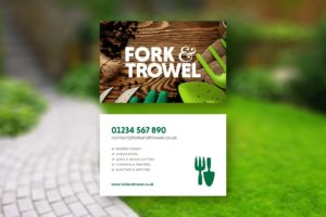 Gardening Landscaping Business Card Design