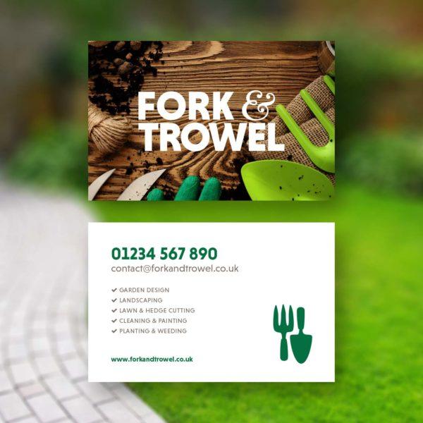 Gardening Landscaping Business Card Design