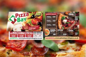 Pizza Takeaway Menu Leaflet Design