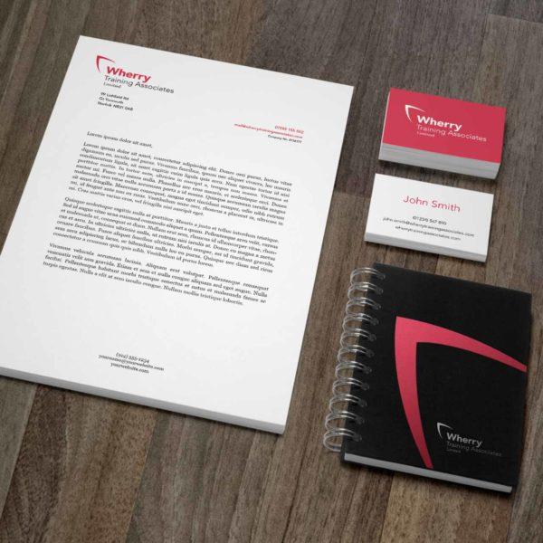 Training Company Stationery Design