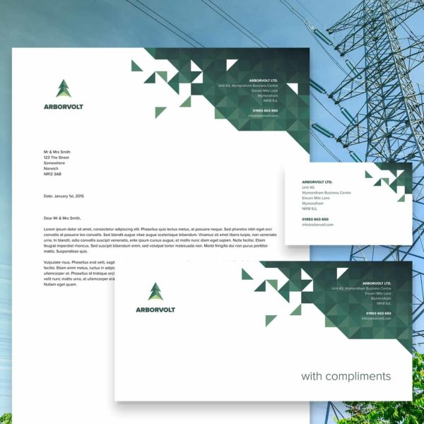 Tree Surgeon Arborist Stationery Design