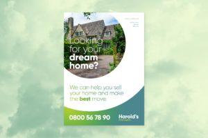 Estate Agent Flyer Design