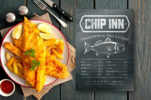 Fish and Chip Flyer Design