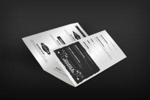 Food Leaflet Design