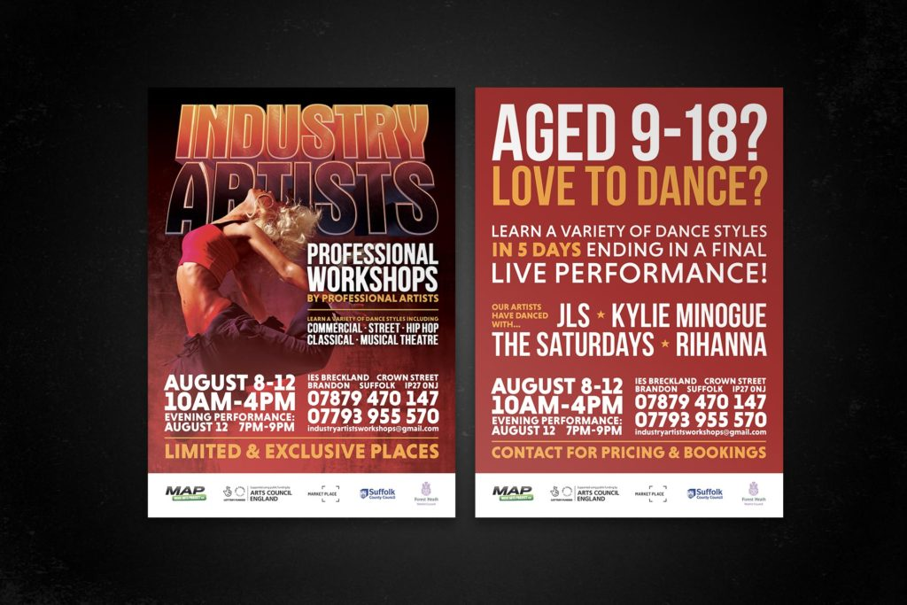 Industry Artists, Professional Dance Workshops