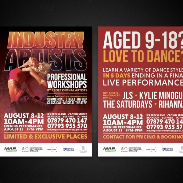 Dance School Flyer Design