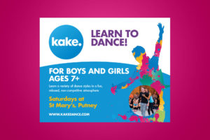 Kake Dance Class Banner - Kevin Clifton, Karen Clifton