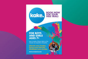 Kake Dance Class Flyer, Keven Clifton and Karen Clifton