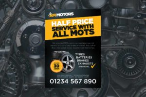 Mechanic Garage Flyer Design