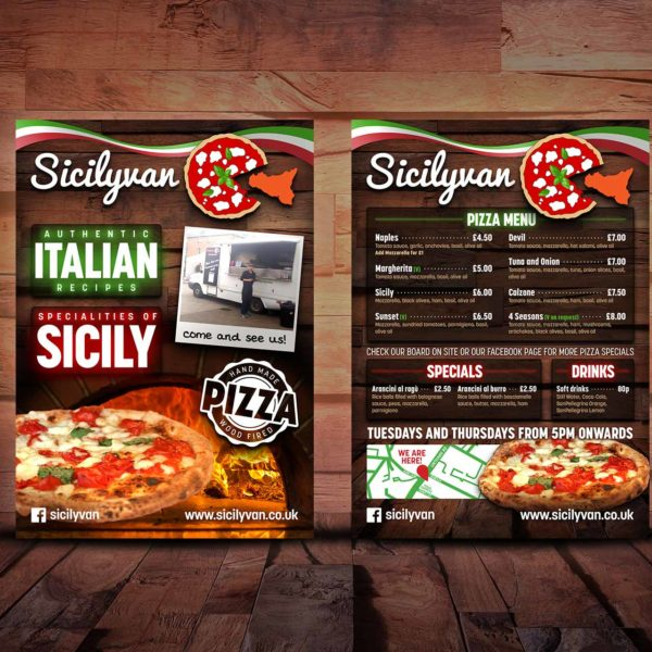 Pizza Restaurant Flyer Design