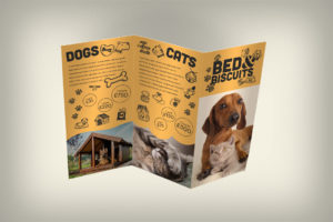 Dog Cat Pet Boarding Kennel Leaflet Design