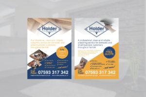 Plastering Carpentry Flyer