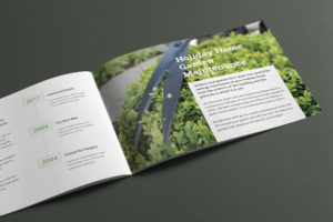 Lakeland Garden Services Brochure Design