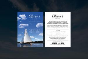 Sailing Holiday Flyer
