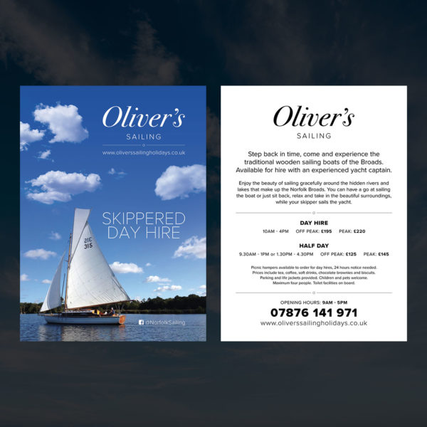 Sailing Holiday Flyer