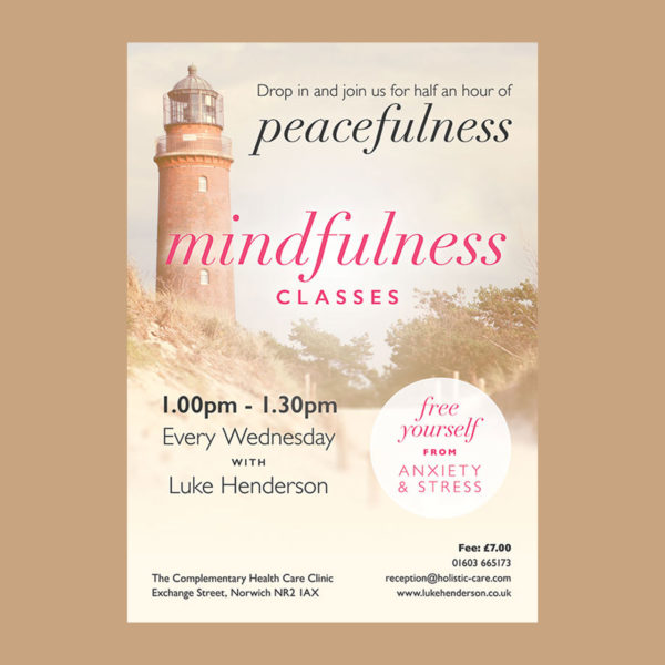 Mindfulness Classes Poster